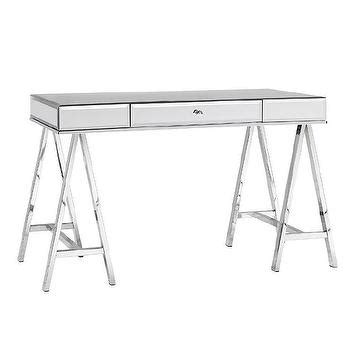 sawhorse desk with drawers sawhorse desk pottery barn