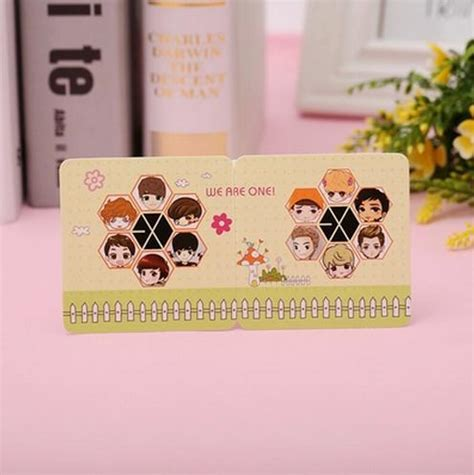 Exo Birthday Card