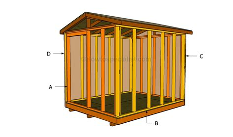 Constructing A Shed by How To Build A Small Shed Howtospecialist How To Build