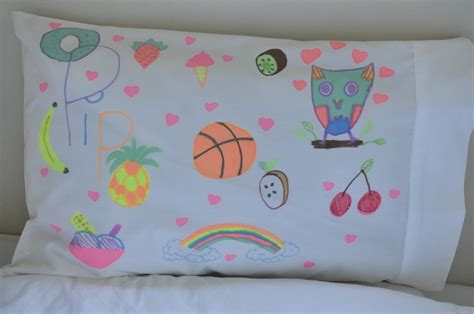 Decorate Your Own Pillow by Design Your Own Pillowcase Be A