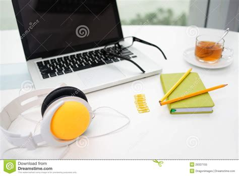 colorful office supplies colorful office supplies royalty free stock photo image