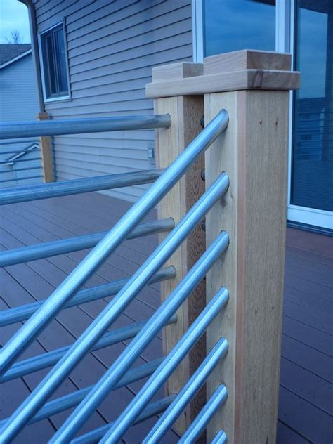 Galvanized Handrail by Galvanized Pipe Railings And Pipes On