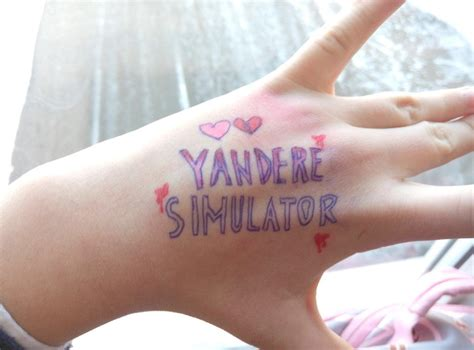 tattoo simulator quot pen quot yandere simulator your meme