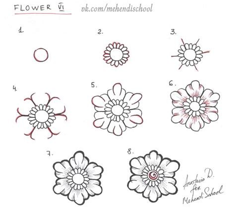 doodle flowers tutorial best 25 paisley drawing ideas on