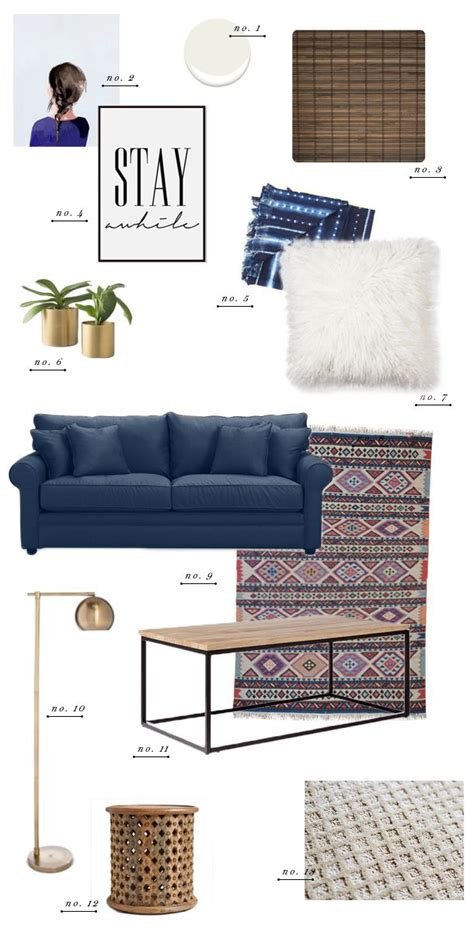 blue sofa in living room living room style update navy blue sofa earnest home co