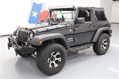 2012 Jeep Wrangler Top 2012 Jeep Wrangler Sport 4x4 Soft Top Na Prodej