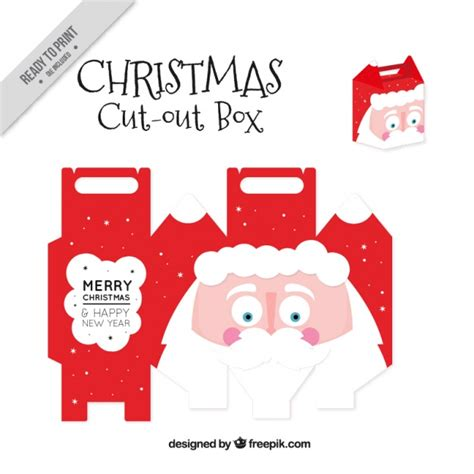 santa claus phone number email address find out here cut out box of nice santa claus vector free download