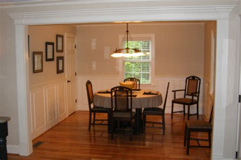Dining Room Table Height by How To Meaure Your Walls For Wainscoting Panels