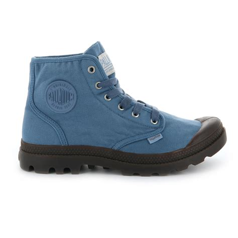canvas mens boots palladium mens shoes pa hi canvas new walking high top