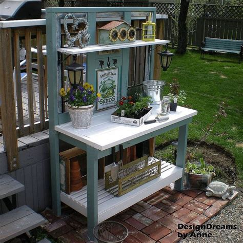 potting bench diy how to build a potting bench