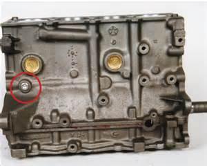 Chrysler Engine Identification Chrysler 2 4l Cylinder Block Identification