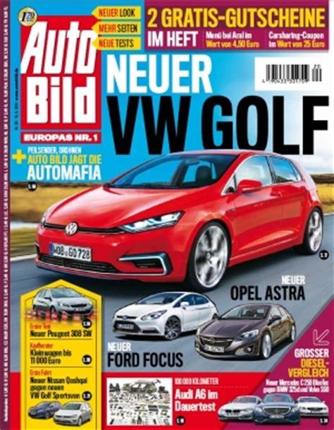 Autobild Mediadaten by Auto Bild Springer Vollzieht Den Modellwechsel