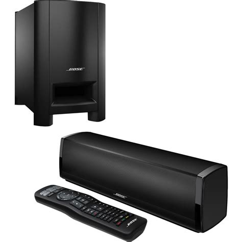 bose cinemate  home theater speaker system black