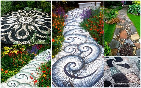 12 Bedroom House backyard landscaping ideas 15 magical diy pebble paths