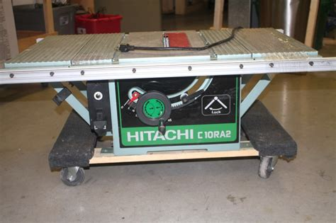 hitachi table saw price 10 inch hitachi table saw with site foldable stand