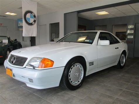 1991 white convertible 24 900 buy or sell classic buick reatta coupe or convertible find used 1991 mercedes benz 300sl 500sl convertible 2 door 3 0l roadster in westhton beach