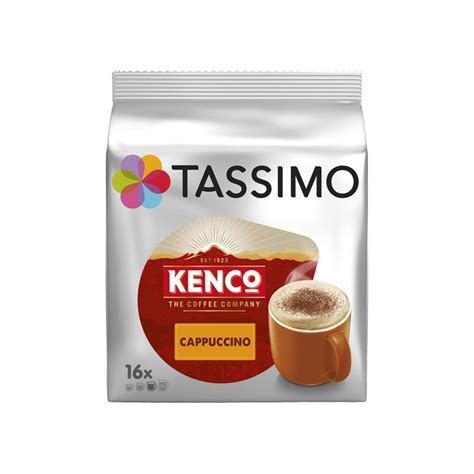Tassimo T Discs Kenco Cappuccino Coffee Pods 1 x 8 Drinks