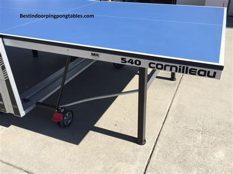 cornilleau ping pong table cornilleau 540 indoor