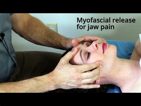 massage tutorial myofascial release  headache  doovi