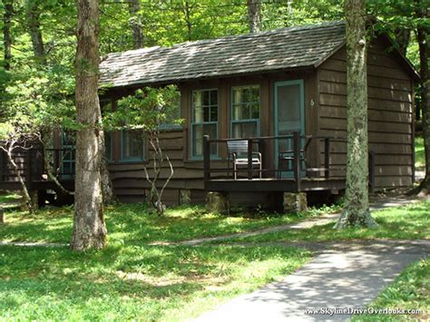 Lewis Mountain Cabins by Skyline Drive Cgrounds Shenandoah National Park