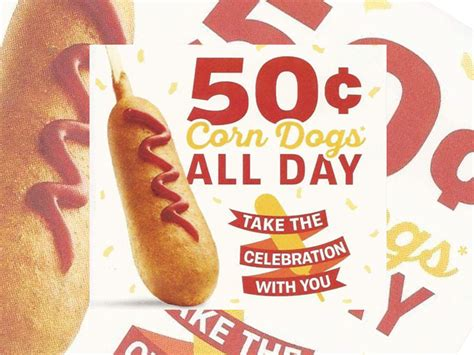 50 cent corn dogs 50 cent corn dogs at sonic on march 18 2016 chew boom