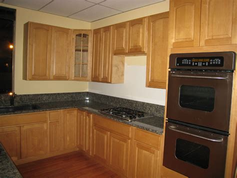 Honey Maple Kitchen Cabinets How To Repaint Maple Kitchen Cabinets My Kitchen