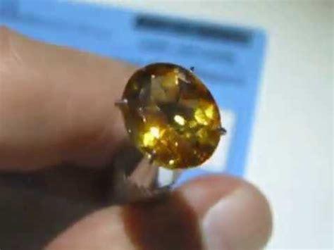 Batu Citrine Citrine Gc930 batu permata orange citrine 3 15 carat oval cut