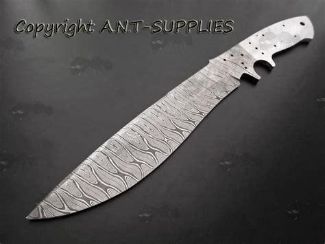 knife blade blanks uk damascus knife blade blanks knife steel blank