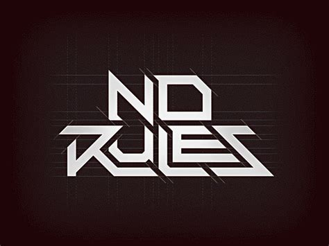 no more rules graphic 1780671032 no rules by michael jimenez dribbble