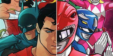 Dc Comics Justice League 14 April 2017 power rangers justice league crossover comics coming in 2017