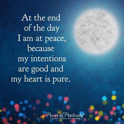 I Am At Peace - The Daily Quotes