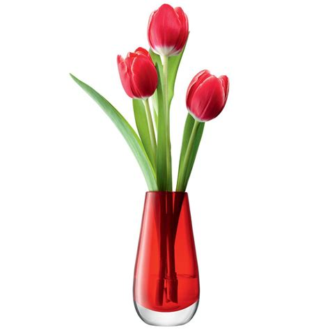A Vase With Flowers by Lsa Flower Colour Bud Vase Small Glass Vase