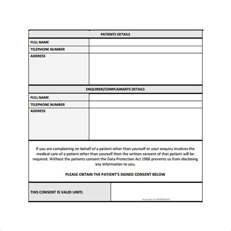 28 patient report form template download patient