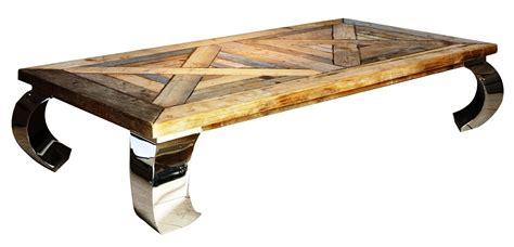 Unique Coffee Table Rustic Railroad Ties Wood Square Unique Coffee Table