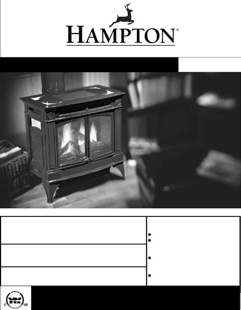 Fireplace Products International by Hton Direct Indoor Fireplace H35 Ng1 User Guide