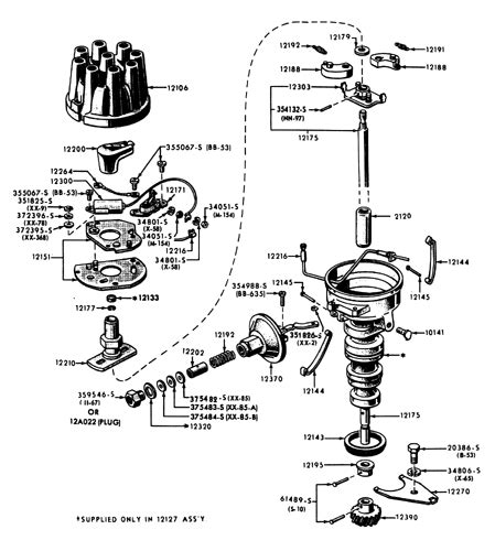 ford small block ignition system