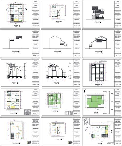 format gambar imb contoh gambar imb ijin mendirikan bangunan rumah tinggal