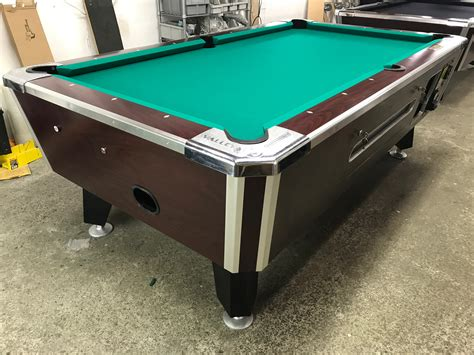 used coin operated pool table table 110117 used coin