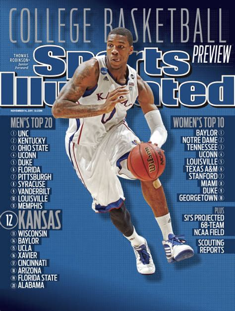 Sports Covers by Robinson On Sports Illustrated Cover Rock Chalk