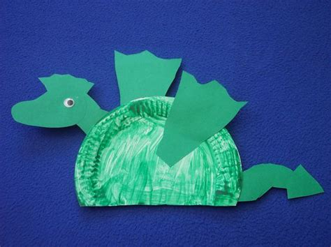 paper plate dragon craft for kids (3) « Preschool and