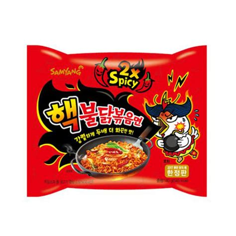 Md Samyang 2x Spicy Spicy samyang 2x spicy nuclear fried spicy chicken noodle 140g