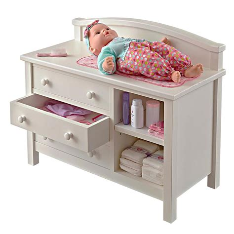 baby play table wood doll changing table woodworking plan from wood magazine