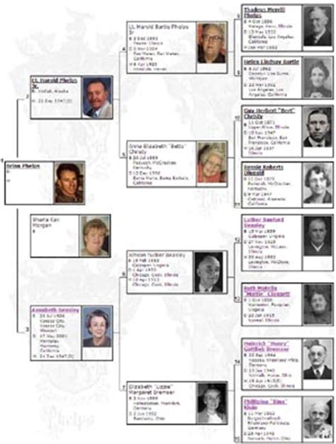 steven avery family tree pin four generation family tree chart provided by the