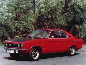 Opel Automobiles In Time 1970 Cars Opel Manta A