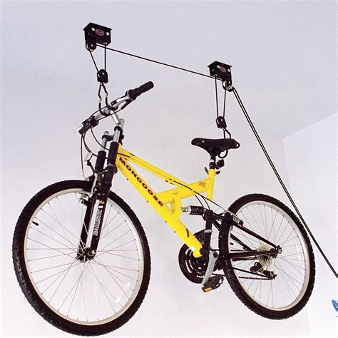 Ceiling Mounted Bike Lift by Ceiling Mounted Bike Lift 187 Gadget Flow