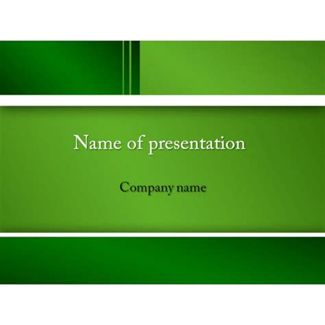 Neutral Green Powerpoint Template Background For Presentation Free Green Powerpoint Templates Free