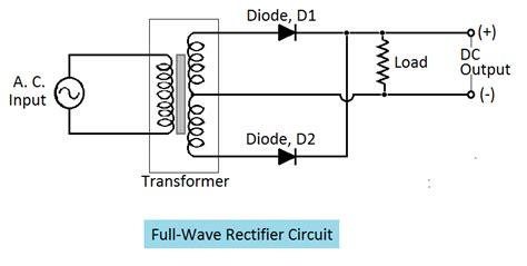 diode rectifier circuit output voltage tutorials articles december 2014