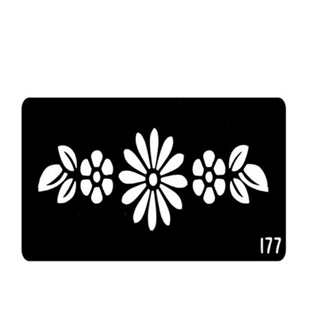 new style flower henna tattoo templates stencils for hands
