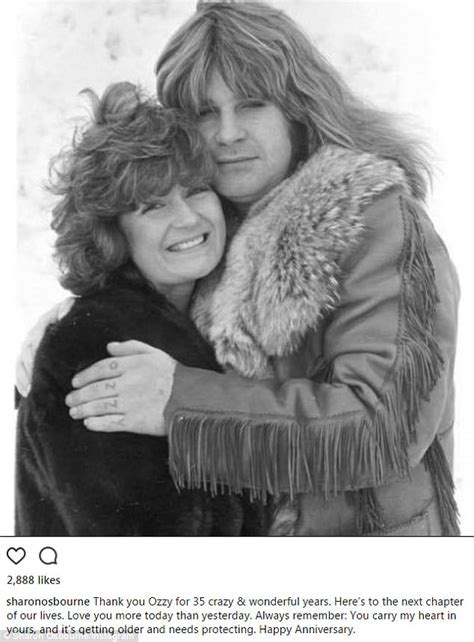 Sharon and Ozzy Osbourne celebrate 35th anniversary