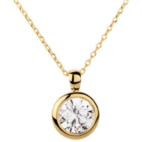Gold diamond pendants and necklaces  edenly